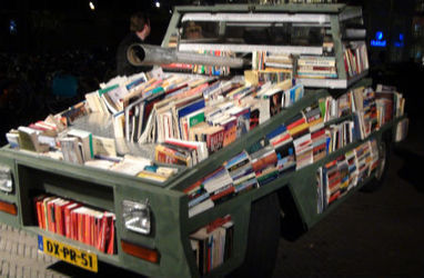 People Are Awesome: Meet the Book Tank, a 'Weapon of Mass Instruction' - Culture - GOOD | Social Innovation Trends | Scoop.it
