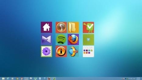 Add Windows 8 Start Screen-Like Metro Tiles To Desktop Using XWidget   Time to Learn   Scoop.it