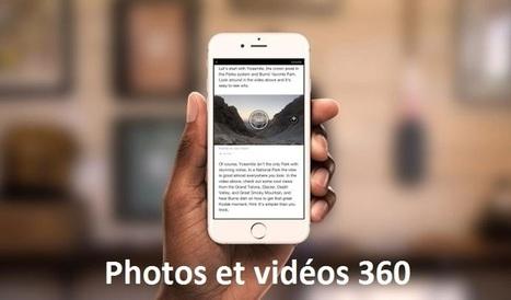 Facebook introduit la vidéo et la photo à 360° dans les Instant Articles | Contenus vidéo sur internet : de la puissance à l'exigence | Scoop.it