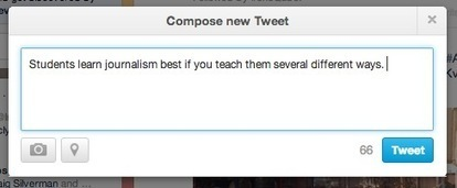Advice for a new journalism prof: Teach lessons a variety of ways ...   journalism education   Scoop.it