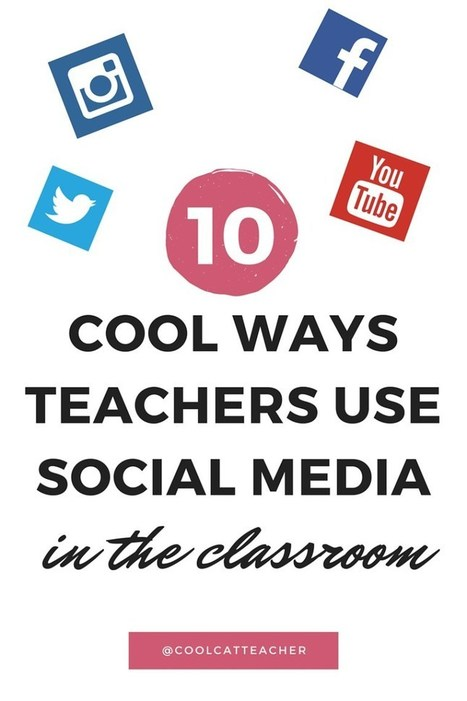 10 Cool Ways Teachers Use Social Media to Enhance Learning via @coolcatteacher | PBL | Scoop.it