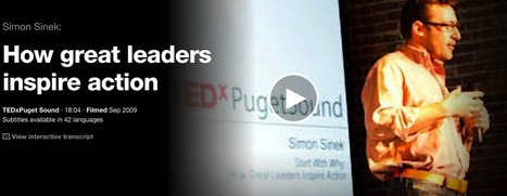 Some Amazing TED Talks on How to Be A Leader | Surviving Leadership Chaos | Scoop.it