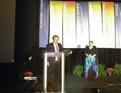 John Receives Lifetime Achievement Award at WorldBlu Live! « HaitiPartners.org | Forum Ouvert | Scoop.it