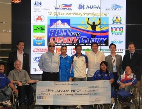 Filipino London 2012 Paralympians honoured with cash rewards despite no ... - Insidethegames.biz | Gary Guion | Scoop.it
