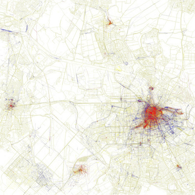 Maps Show Where Tourists Go—and Where Locals Do | web maps | Scoop.it