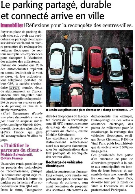Midi Libre   Grande enquête Q-Park Les Français et le stationnement   Scoop.it