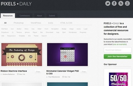 22 Best Websites To Download Free PSD Files | Artatm | Photoshop Tutorials | Scoop.it