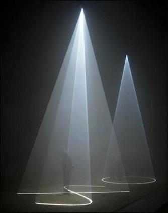 Anthony McCall | Face to Face IV | Paris 3e. Galerie Martine Aboucaya | Médiation culturelle, art contemporain et publics réfractaires | Scoop.it