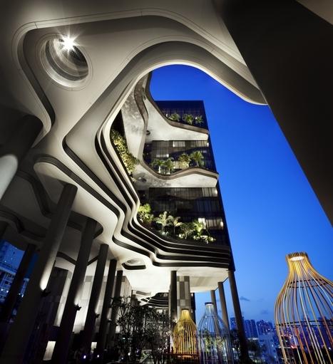 Hallucinant : l'hôtel Parkroyal à Singapour - Joli Joli Design | architecture..., Maisons bois & bioclimatiques | Scoop.it