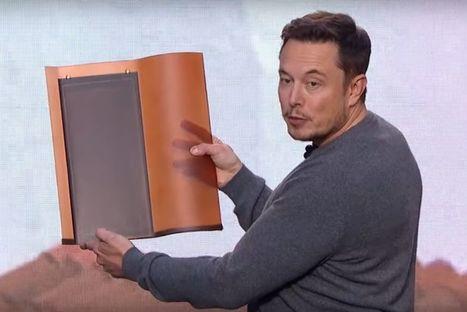 Elon Musk présente les tuiles solaires de SolarCity | Tesla Motors (+ other electric cars news) | Scoop.it