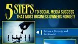 5 Steps to Social Media Success that Many Business Owners Forget [INFOGRAPHIC]   Social Media Today   Online Business   Scoop.it