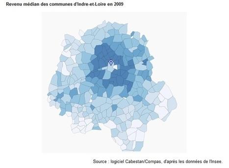 Villes, périurbain, rural : quels sont les territoires les MOINS favorisés ? (Observatoire des inégalités) | URBANmedias | Scoop.it