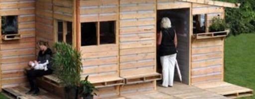 100 id es pour recycler des palettes b - Construction en palettes bois ...