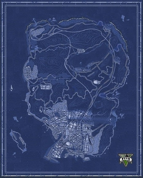 The entire GTA V map has been pieced together - Lazygamer | Comic Books, Video Games, Cartoons | Scoop.it