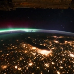 A wonderful time lapse view from the space of the earth | BASIC VOWELS | Scoop.it