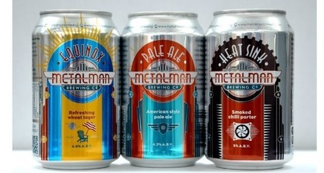 Rexam supports Metalman with its first canned craft beer | Packaging News | Aluminium packaging | Scoop.it