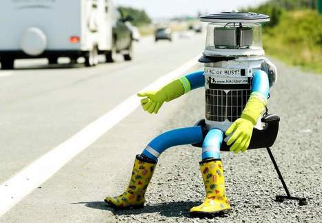 Hitchhiking Robot That Crossed Nations Fails to Last 2 Weeks in U.S. | Upsetment | Scoop.it