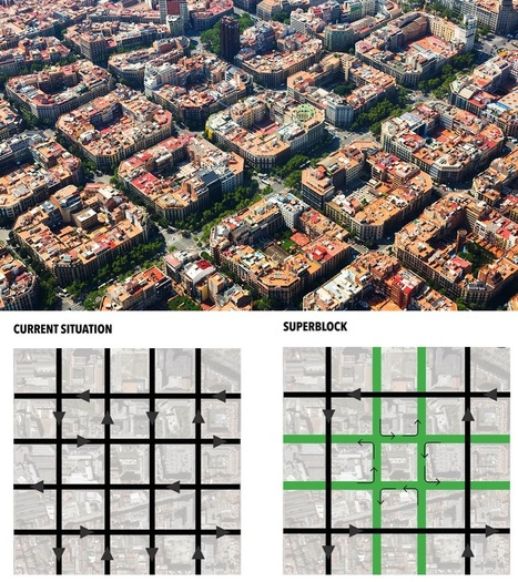 Superblocks to the rescue: Barcelona's plan to give streets back to residents | Geography Education | Scoop.it