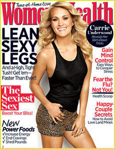 Carrie Underwood Covers 'Women's Health' November 2013 ... | Health and Wellness | Scoop.it