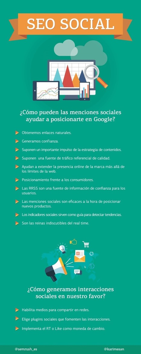 Qué es el SEO Social #infografia #socialmedia #seo | social media marketing | Scoop.it