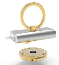 U-Ring Novel Flash Drive for iPhone Offering Secure and Convenient Grip Coming on Kickstarter | Press Release | Scoop.it