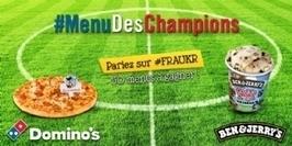 Domino's Pizza et Ben & Jerry's parient sur le foot sur Twitter | Réseaux Sociaux - Social Media | Scoop.it