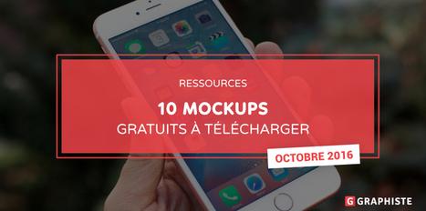 10 Mockups gratuits à télécharger - Graphiste.com | Web Increase | Scoop.it