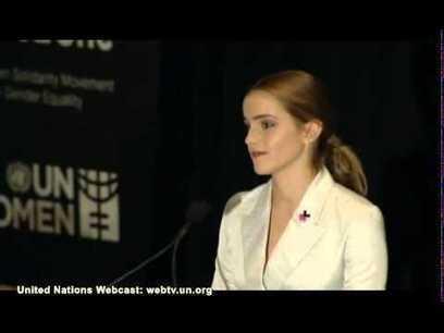 Emma Watson UN speech - YouTube | Skill & Competence | Scoop.it
