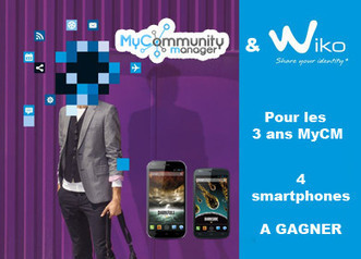 3 ans #MyCM ! 4 smartphones à gagner avec @wikomobile | Actualité e-marketing | Scoop.it