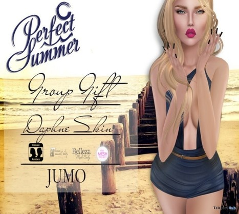Daphne Skin Porcelain Group Gift by JUMO | Teleport Hub - Second Life Freebies | Second Life Freebies | Scoop.it