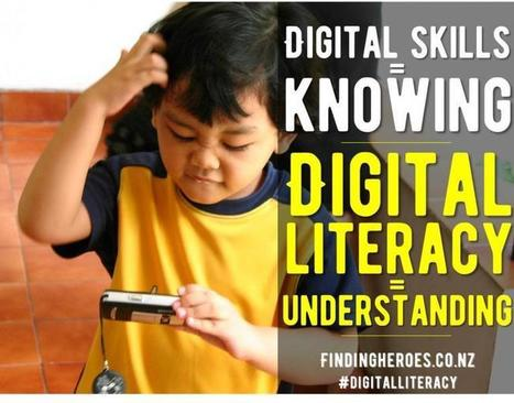 ALFINete: Digital Skills Are Not the Same as Digital Literacy | TechSoup for Libraries | Pelas bibliotecas escolares | Scoop.it