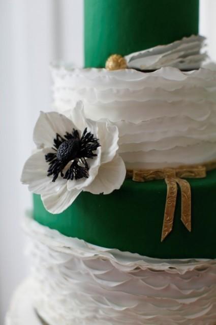 Le vert Emeraude | The Wedding Tea Room | mariage château | Scoop.it