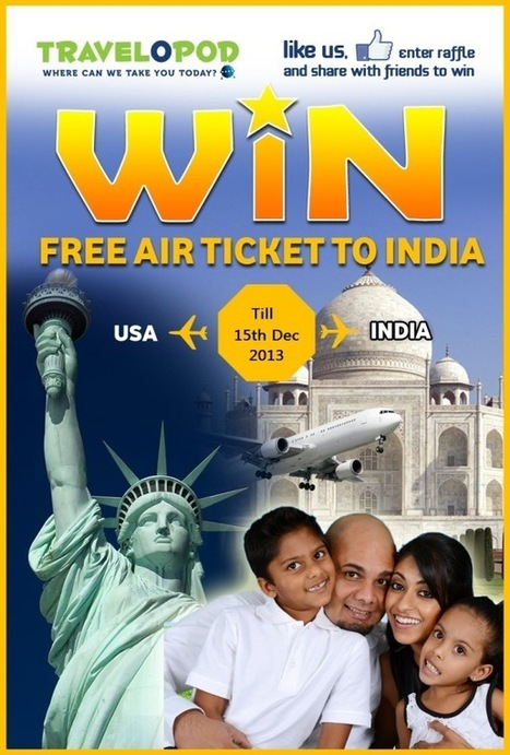 Win Free Air Flight Ticket Deals with Travelopod | World Traveling | Scoop.it