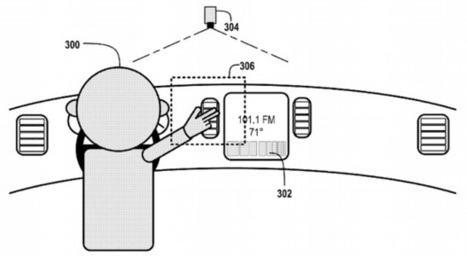 Google applies for patent on gesture-based car controls | Trends Investigation | Scoop.it