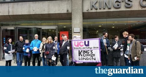 UK university lecturers strike over pay | Higher Education and academic research | Scoop.it