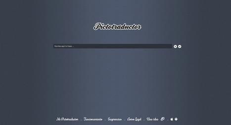 Pictotraductor :: Comunicación sencilla con pictogramas | Tecnología e inclusión. | Scoop.it