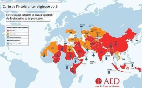 La liberté religieuse est en recul dans le monde   La presse et la classe de fle   Scoop.it