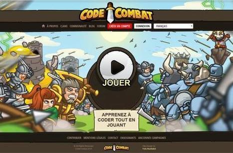 Apprenez à coder de manière ludique sur internet - Jactiv (Inscription)   Jeux serieux   Scoop.it