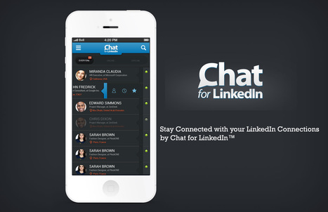 The most downloaded app in over 40 countries! Chat for LinkedIn™ | Blink Chat for LinkedIn™ | Scoop.it