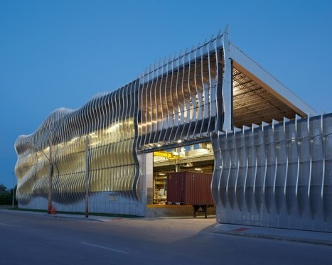 Zahner Factory Expansion / Crawford Architects | Architecture, design & algorithms | Scoop.it