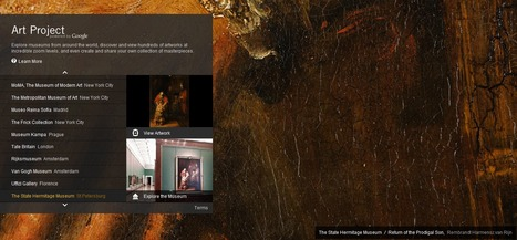 Art Project, powered by Google | Geografía e Historia | Scoop.it
