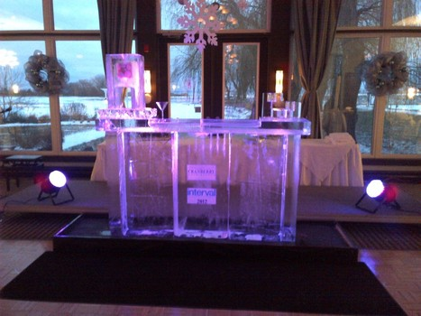 5 Tips to Spice up Your Reception Decoration | What is How to | Ice Sculpture and Chocolate Fountain | Scoop.it