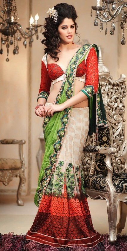 Latest Saree Collection In Hot Styles for Girls 2015 | New Clothing Point | arshad | Scoop.it