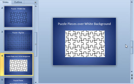 Plantilla de Puzzle para PowerPoint | plantillas-powerpoint.com | iori88 | Scoop.it
