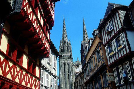 Guide immobilier de la ville de Quimper en Bretagne | Guides immobiliers Orpi | Scoop.it