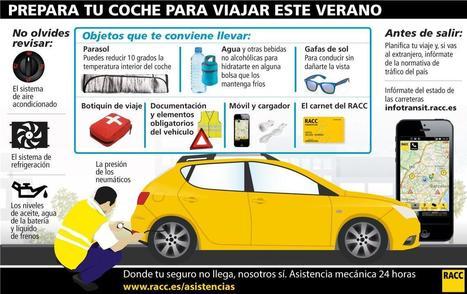 Prepara tu coche para viajar este verano | Seguridad Vial | Scoop.it