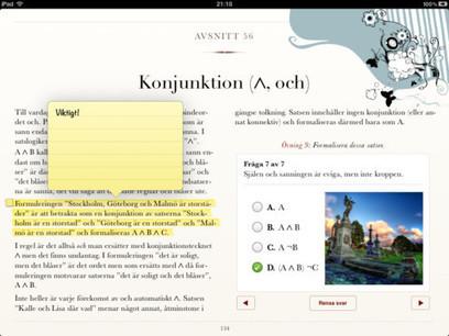 Första svenska läroboken till iPad är nu här! | Skolebibliotek | Scoop.it