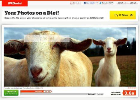 JPEGmini - Your photos on a diet!   1-MegaAulas - Ferramentas Educativas WEB 2.0   Scoop.it