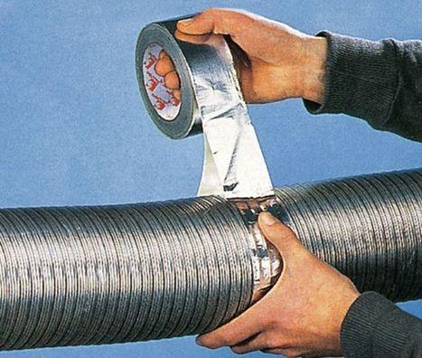Assurer l'étanchéité de vos gaines avec de l'adhésif aluminium- Blog - Vente Adhesif, scotch, rouleau adhesif, fixation, emballage - Adhésifs-direct.com | bricolage-professionnels | Scoop.it