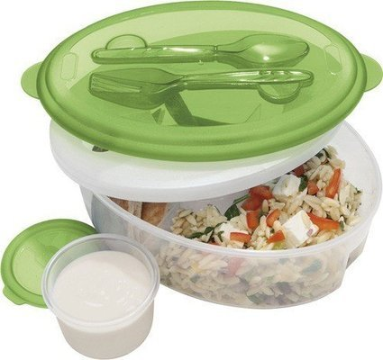 Oggi Chill To Go Food Container Fork, Spoon « Kitchen & Dining | Catering, Food Baskets, Delicatessan, Parties, Weddings | Scoop.it
